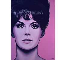 Natalie Wood Painting Photographic Print