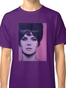 Natalie Wood Painting Classic T-Shirt
