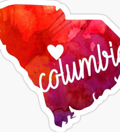 Columbia Sticker