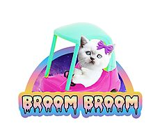 Broom Broom Photographic Print