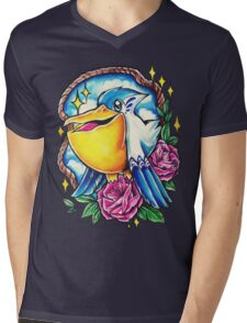 Pelipper Mens V-Neck T-Shirt