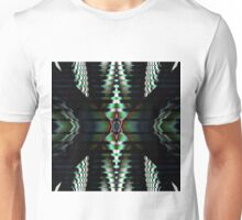 Metallic Shapes and Patterns Unisex T-Shirt