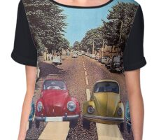 The Abbey Road Collage Chiffon Top