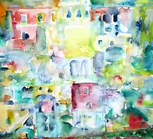 HAPPY BATHER in PROCIDA by lautir