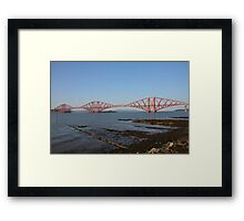 The Forth Bridge from Queensferry Framed Print