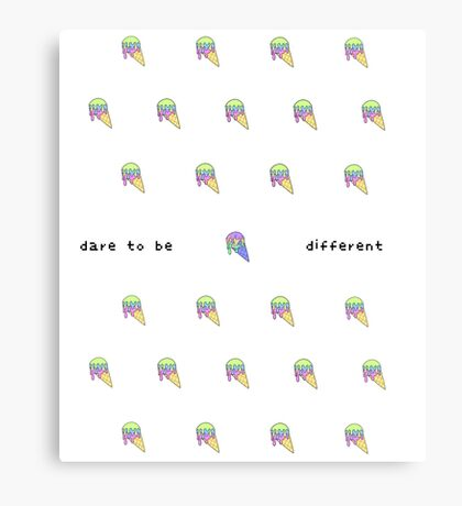 CSD Inspire Series - Dare to be Different Canvas Print