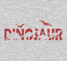 Dinosaur red Kids Clothes