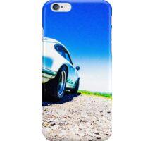 Porsche on the Gravel iPhone Case/Skin