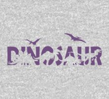 Dinosaur purple Kids Clothes