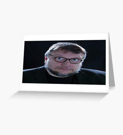 Guillermo Del Toro Greeting Card