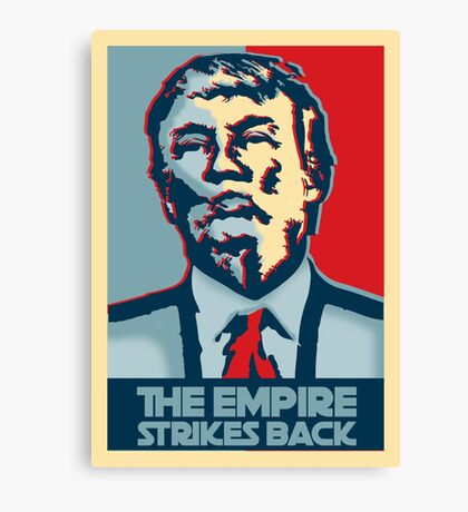 The empire strikes back? Canvas Print
