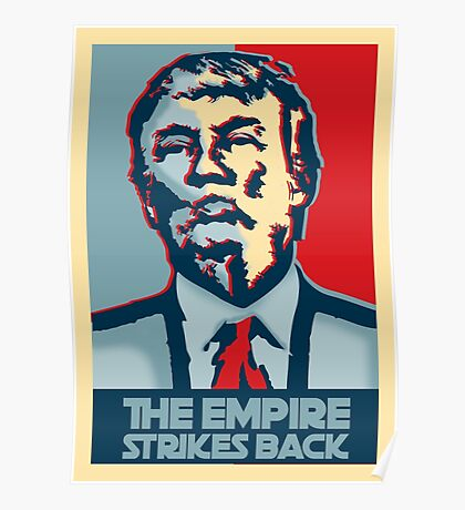 The empire strikes back? Poster