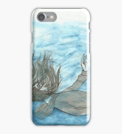 Below the Blue iPhone Case/Skin