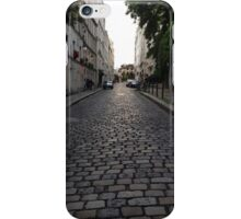 Cobblestone Paris Street iPhone Case/Skin