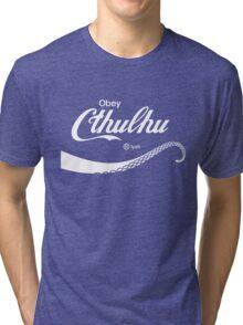 Obey Cthulhu Tri-blend T-Shirt