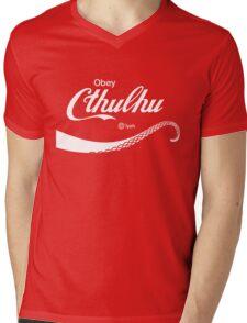 Obey Cthulhu Mens V-Neck T-Shirt
