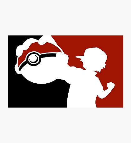 POKEMON POKEBALL - POKEMON GO Photographic Print