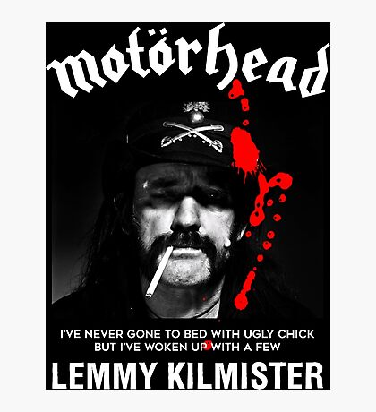 Motorhead Lemmy #1 Photographic Print