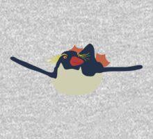Swimming rockhopper penguin One Piece - Long Sleeve