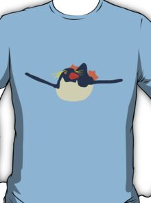 Swimming rockhopper penguin T-Shirt