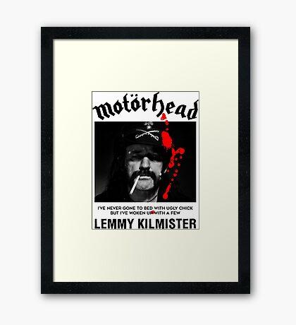Motorhead Lemmy #2 Framed Print