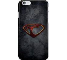 """The Letter T in the Style of """"Man of Steel"""" iPhone Case/Skin"""