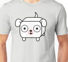 Pit Bull Loaf - White Pitbull with Floppy Ears Unisex T-Shirt