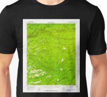 USGS TOPO Map California CA Blue Mountain 296850 1956 62500 geo Unisex T-Shirt