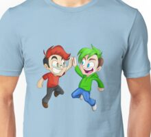 Two Halves of the Same Idiot (No Text) Unisex T-Shirt