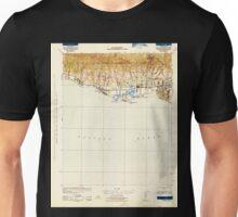 USGS TOPO Map California CA Goleta 297577 1942 62500 geo Unisex T-Shirt