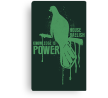 Baelish House Game of Thrones Shirt Canvas Print