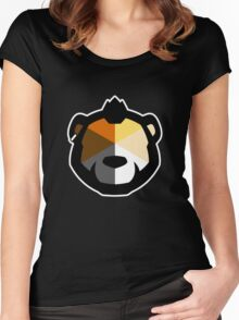 Phenom Bear Women's Fitted Scoop T-Shirt