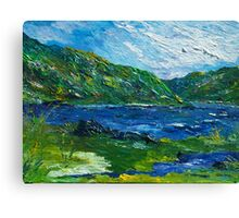 White water in Kenmare  Kerry Canvas Print