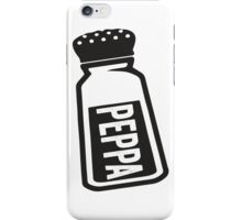 Peppa iPhone Case/Skin