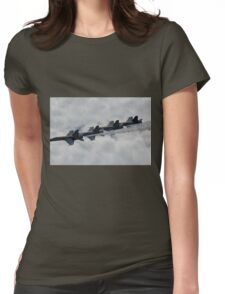 Blue Angles Formation Womens Fitted T-Shirt