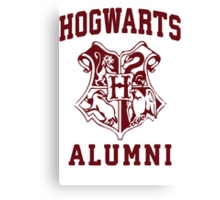 Hogwarts Alumni Canvas Print