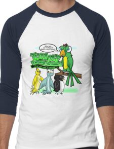 Tommy the Insulting Parrot Men's Baseball ¾ T-Shirt
