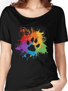 Pride Splash - Furry Pride Women's Relaxed Fit T-Shirt
