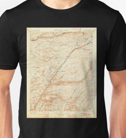 USGS TOPO Map California CA Big Trees 299217 1901 125000 geo Unisex T-Shirt