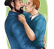 Tintin et le Capitaine by LadyMeggieMan