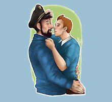 Tintin et le Capitaine Unisex T-Shirt