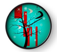 Home for the Holidays Clock