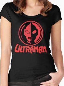 Ultraman Super Hero Japan Women's Fitted Scoop T-Shirt