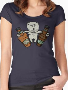 Hungover Bear Women's Fitted Scoop T-Shirt