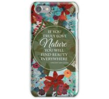 Joyful Wreath series: Spring iPhone Case/Skin