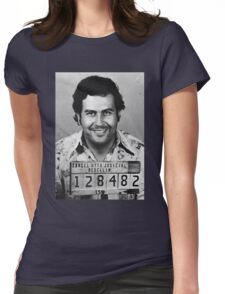 Pablo Escobar Womens Fitted T-Shirt