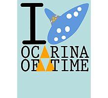The legend of Zelda - Love Ocarina of Time Photographic Print