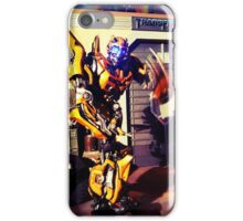 Bumblebee Flip The Bird - Transformers iPhone Case/Skin