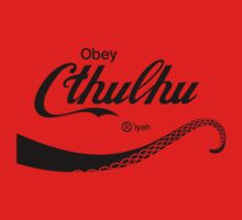 Obey Cthulhu Kids Clothes