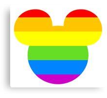 Pride Mouse Canvas Print